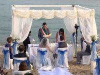 Matrimonio in spiaggia al CDS Hotel